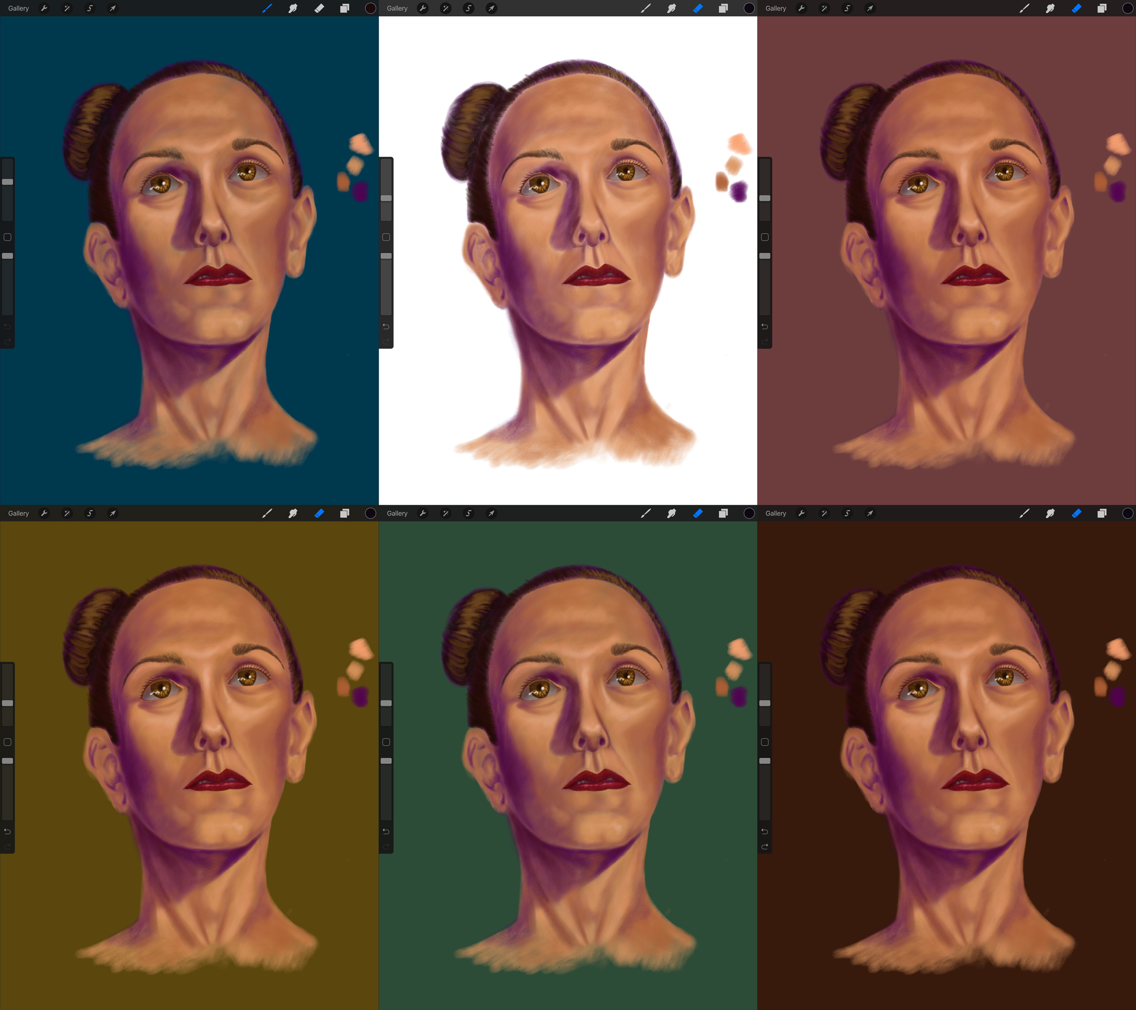 How To Draw A Portrait In Procreate