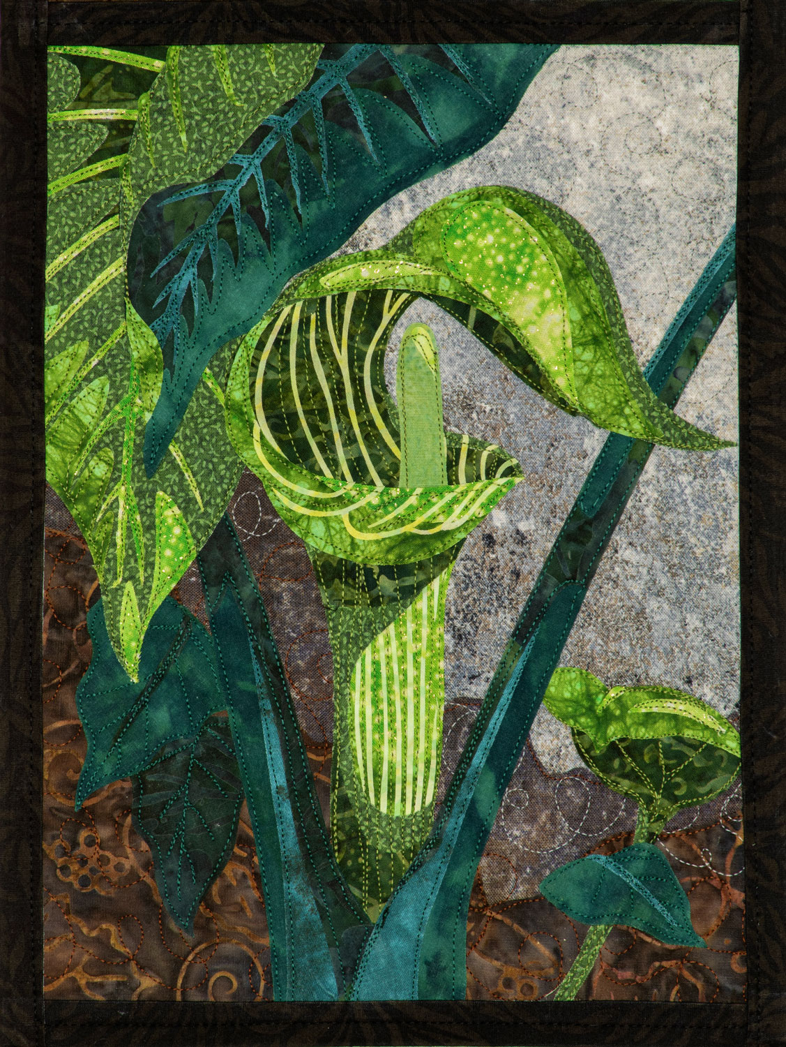 Jack-in-the-Pulpit Wall Hanging, Complete
