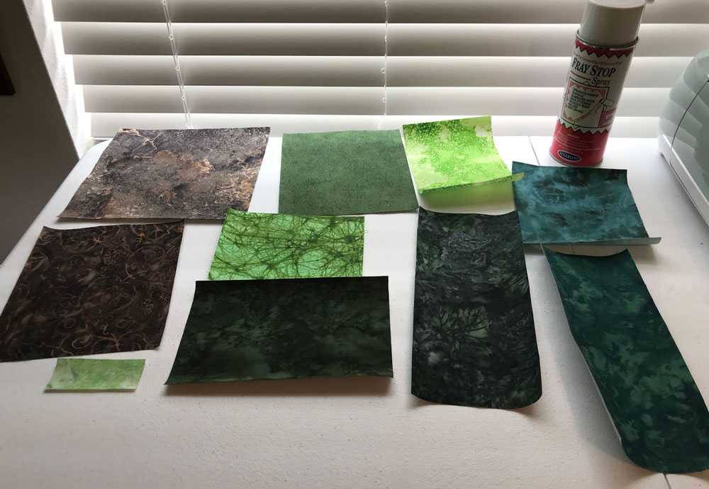 Treated Fabric Swatches