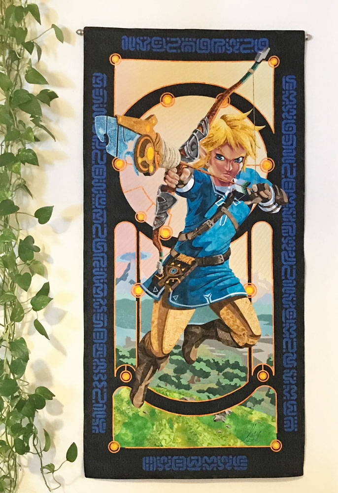 Link Hanging on the Wall