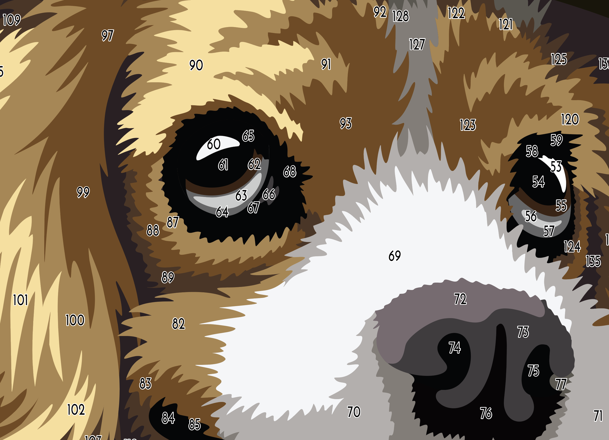 Steampunk Pup template 3